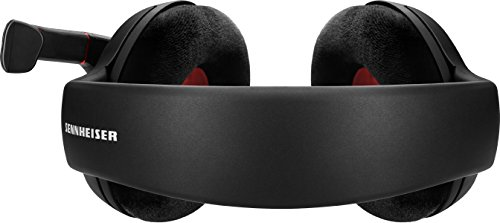 Sennheiser Game One Gaming Headset, Open Acoustic, Noise-canceling mic, Flip-To-Mute, XXL plush velvet ear pads, PC, Mac, Xbox One, PS4, Nintendo Switch, and Smartphones - Black 4