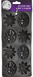Rubber Silicone Ice Cube Tray Mold - Spiders and Spiderwebs