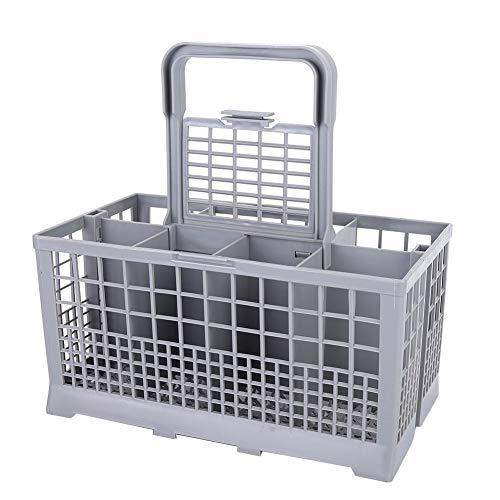 Vikye Cesto para lavavajillas, Utensilios de Cocina Cesto Universal para lavavajillas Cesto de Almacenamiento Caja de vajilla de...