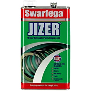Swarfega Jizer Water Rinsable Parts Degreaser, 5 L:Ukcustomizer