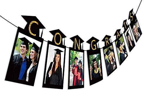 3PCS 2021 Graduation Photo Banner Party Supplies – Congrats...