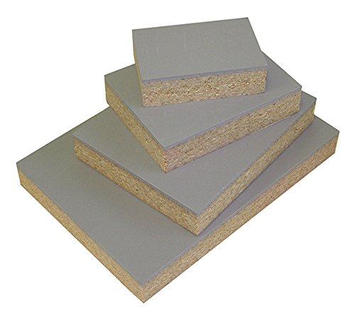 """Speedball Red Baron Gray Linoleum Block: Mounted to 3/4"""" Particle Board, 2"""" x 3"""""""