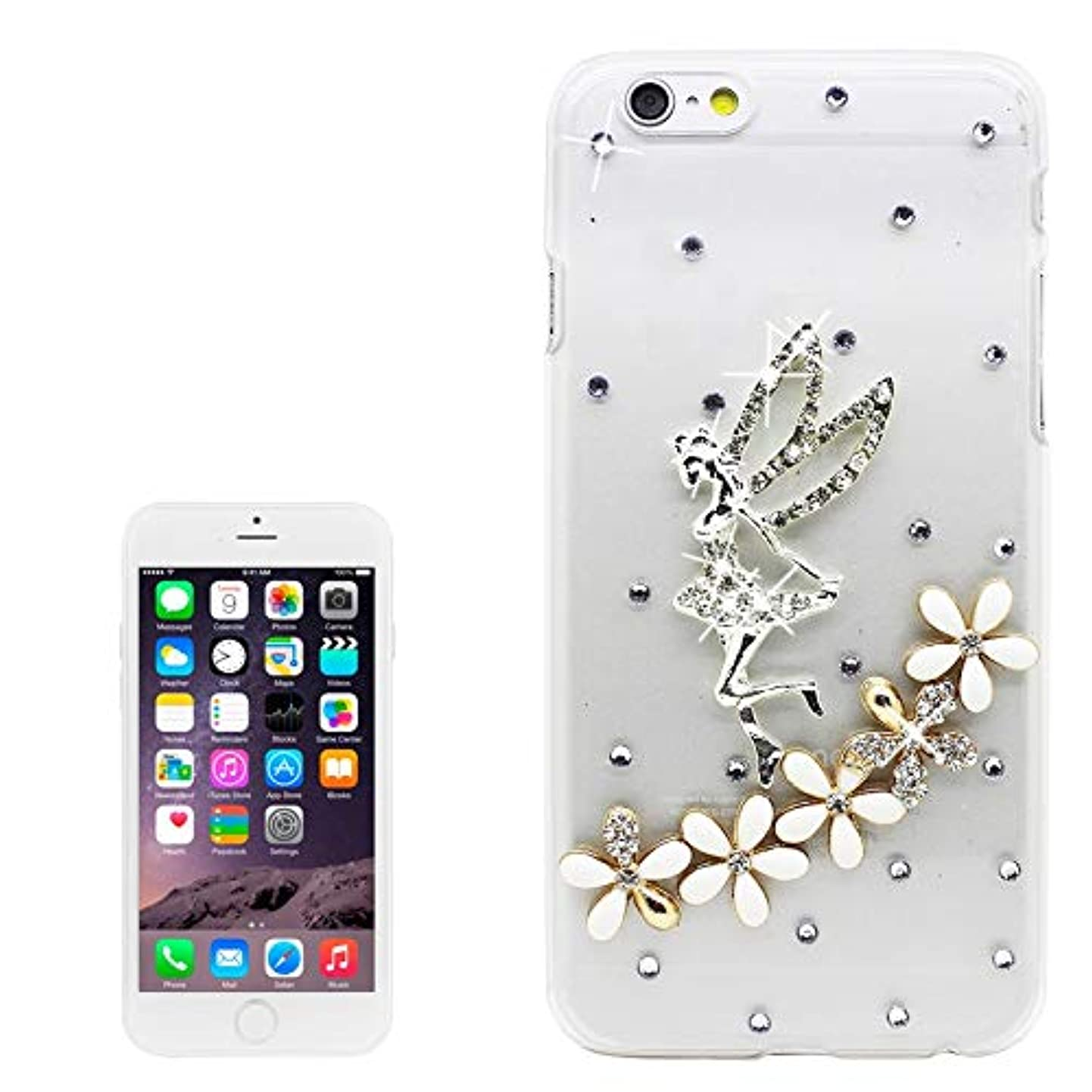 JHM Phone Case Guitar Pattern Diamond Encrusted Plastic Case for iPhone 6 for iPhone 6 / 6s (Color : Color3) jdigtgxjuku6