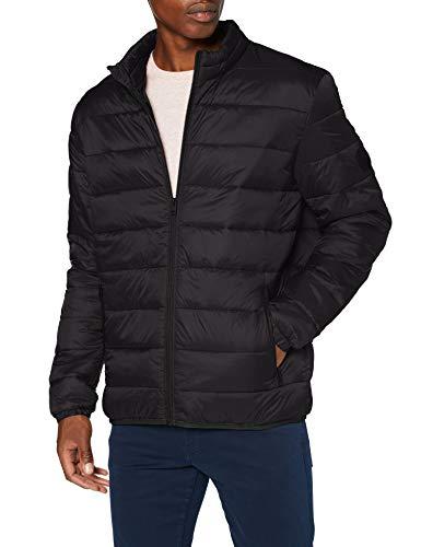 Jack & Jones Jjemagic Puffer Collar Noos Jacket - Veste Matelasse - Homme - Noir - XL