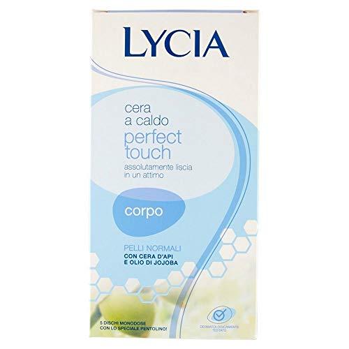 Lycia Perfect touch Cera a Caldo Corpo 5 dischi monodose + speciale pentolino