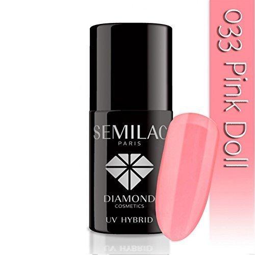 SEMILAC Pink Doll 033 UV LED Gel Hybrid by Semilac Paris