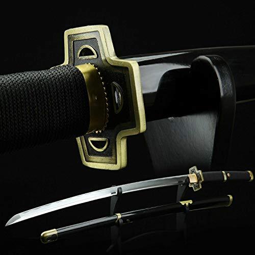 LF Sword One Piece Roronoa Zoro Yubashiri Carbon Steel Katana Samurai...