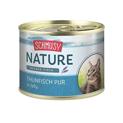 Schmusy Nature con atún, 12 x 185 gr.