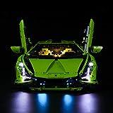Lightailing Light Set for (technic Lamborghini sian FKP 37) Building Blocks Model - Led Light kit Compatible with Lego 42115(NOT Included The Model)