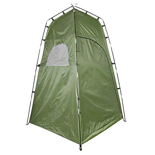 NLRHH Pop-up Tent Outdoor Tent Camping Shower Bathroom Privacy Toilet Changing Room Shelter Single Moving Folding Tents peng