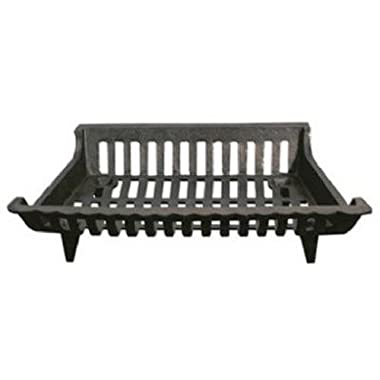 Pleasant Hearth CG18 Cast Iron Grate, 18-Inch
