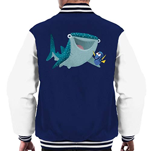 Disney Finding Dory & Destiny Smile Men's Varsity Jacket