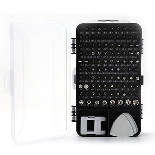 Festnight Herramienta de reparación electrónica, Destornillador de precisión, Juego de Destornilladores magnéticos 115 en 1 para teléfono, Tableta, PC