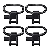 SOMA QD Sling Swivels (4-PCS) 1.5 inch Accessories 2 Point Straps Buckle Attachment Black–Occult (1.5 inch)