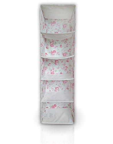 Ikea Skubb Hängeaufbewahrung / Hängeorganizer mit 5 Fächern, Design
