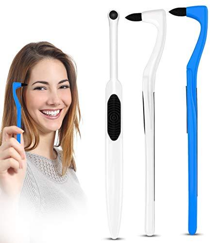 MayBeau 3 Pack Zahnsteinentferner Zahnsteinentfernung Zahnreinigung Interdentalbürste für Weisse Zähne Zahnaufhellung Teeth Whitening Zahnreinigung Zahnarztbesteck Entfernt Stain