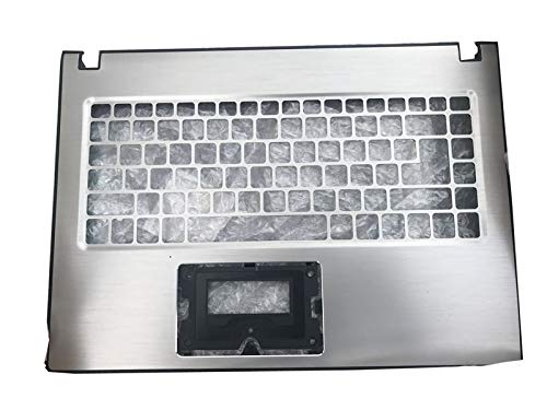 RTDpart Laptop PalmRest For ACER For Aspire E14 E5-474 E5-474G E5-475 E5-475G Upper Case Without Touchpad Silver