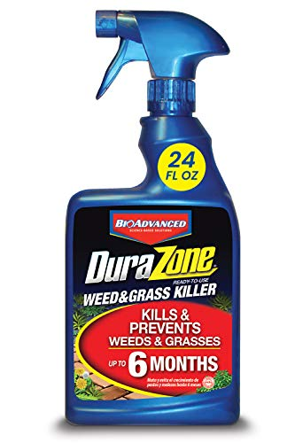 BIOADVANCED 704340A Durazone Weed & Grass Killer, 24-Ounce, Ready-to-Use