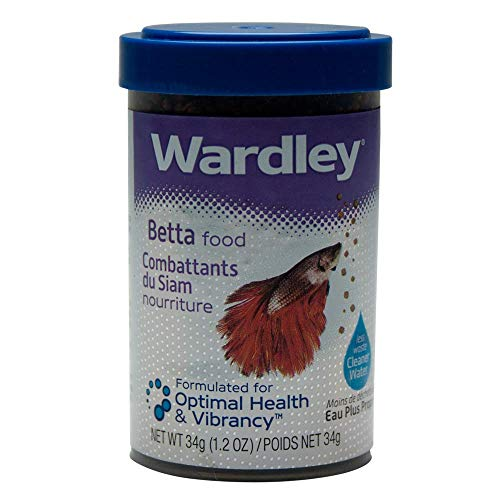 Wardley Premium Betta Fish Food Pellets - 1.2oz