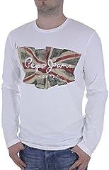 Pepe Jeans Camiseta Manga Larga Flag Logo para Hombre