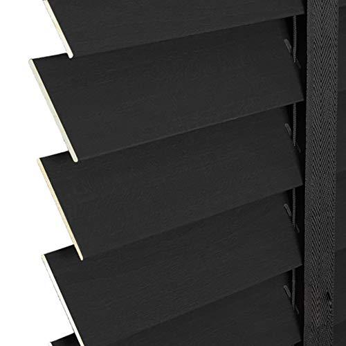 zwarte houten jaloezieen ikea