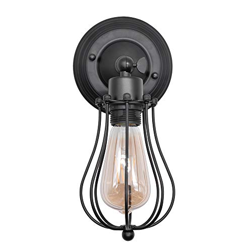 Artpad Vintage American Loft Style Lámpara de pared E27 Apliques de ángulo giratorio industrial Pasillo Pasillo Luminaria de pared AC220v