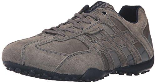 Geox Herren Uomo Snake K Sneaker, Grau (GREYC1006), 40 EU