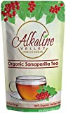 Sarsaparilla Tea - 100% Organic and Alkaline - 15 Unbleached/Chemical-Free Sarsaparilla Tea Bags - Caffeine-Free, No GMO