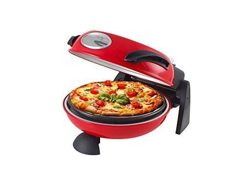 Horno para pizza, pan, pasta, tartas, Beper 1500W de piedra refractaria