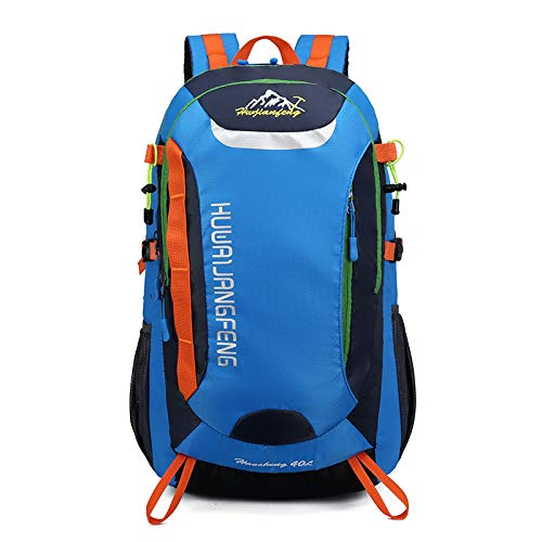HOSD Outdoor Sports Mountaineering Bag Waterproof and Breathable Large Capacity Hiking Backpack Casual Men and Women Backpack