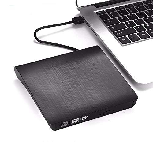 TEEKOO Slim USB 3.0 Externes CD-Laufwerk, Brenner DVD VCD Writer Reader Player Optische Laufwerke für Laptop PC für den Heimgebrauch