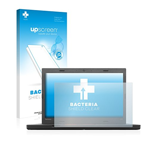 upscreen Antibakterielle Schutzfolie kompatibel mit Lenovo ThinkPad L460 klare Bildschirmschutz-Folie