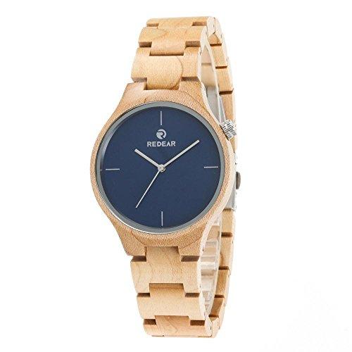 Houten horloges voor heren, professioneel kwarts analoge horloges, voor vaderdaggeschenk vriend Valentijnsdag verjaardagscadeau, hete Amazon