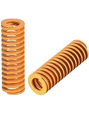 Sourcingmap - Molde de compresión para estampación en espiral (50 mm), color amarillo
