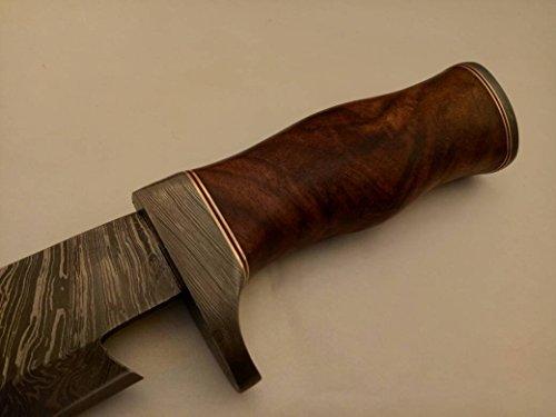 Nescole Handmade Damascus Bowie Knife
