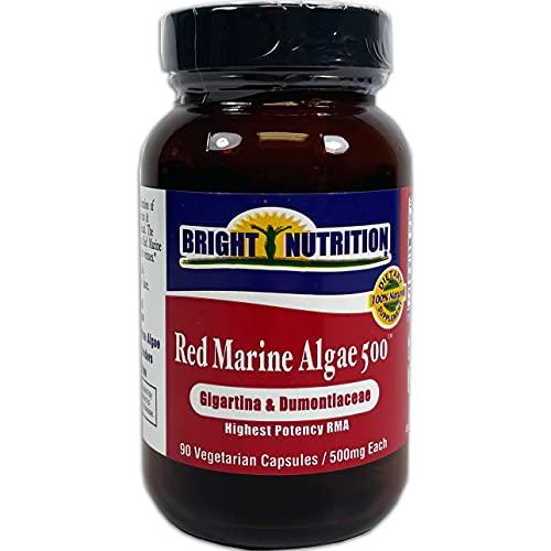Red Marine Algae 500 - Gigartina & Dumontacea - 90 VCaps/500mg