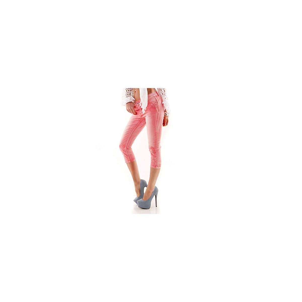 Mozzaar New Brand Pant Skinny Jeans Röhre Miss Push