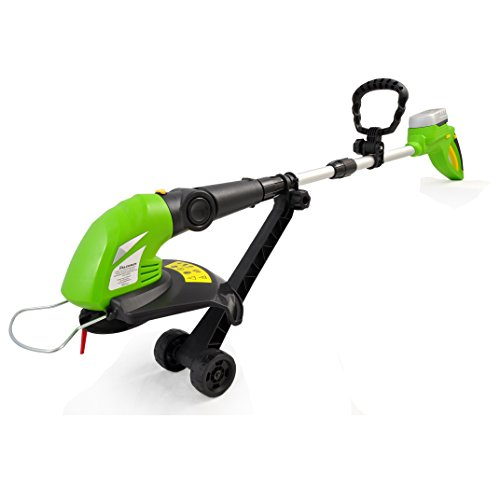 Buy Bargain SereneLife Grass Cordless Clippers Power Edge Trimmer with Rechargeable String Trimmer -...