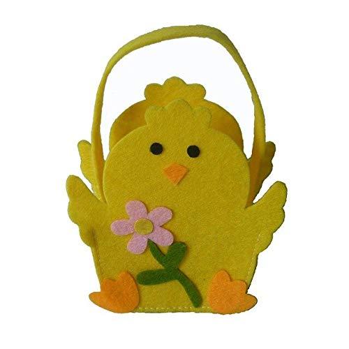 ADSIKOOJF Bunny Bag Bunny Chick Candy Bag Gift Tote Bag schattig dier voor kinderen snoepjes Goodies Baby Douche Verjaardag Candy Box