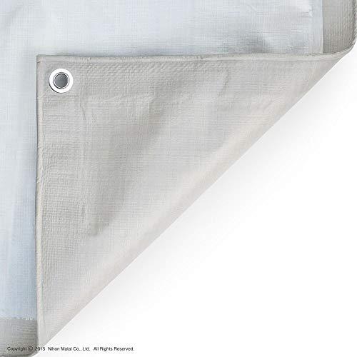 [日本製]ブルーシート ニュアンスカラー レジャーシート (2.7m x 2.7m, ライトベージュ)