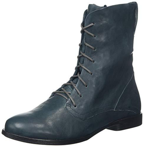 Think! Damen AGRAT_585228 Desert Boots, Blau (Atlantic 87), 41.5 EU