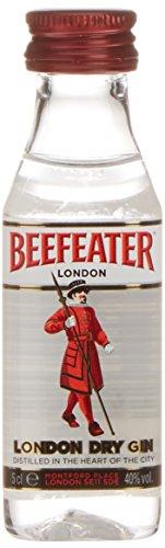 Beefeater Dry Gin London - Ginebra, miniatura