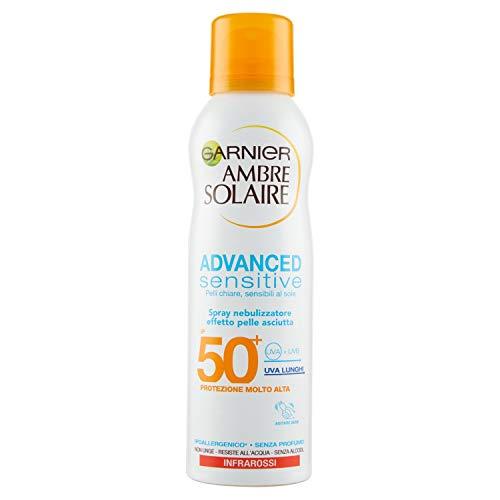 Advanced sensitive spray solare pelle asciutta spf 50+ 200ml