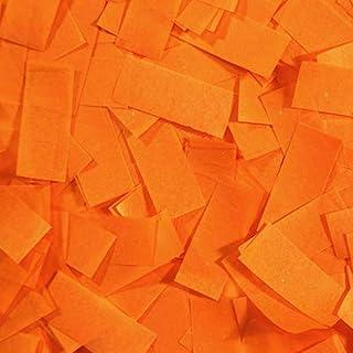Ultimate Confetti Premium Orange Tissue Confetti-Biodegradable-for Parties-Concerts-Clubs-Weddings-Events-Halloween Decor