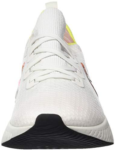 Nike React Infinity Run Flyknit Women's Running Shoe Platinum Tint/Black-Pink Blast Size 8