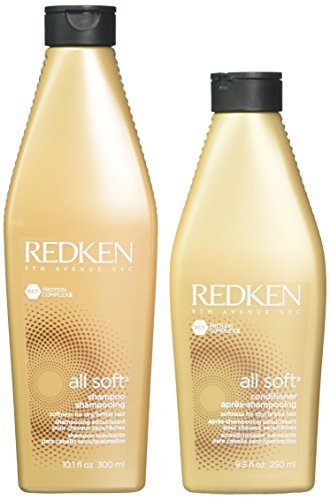 Auch gut in der Leistung REDKEN All Soft Shampoo 300ml + Conditioner 250ml