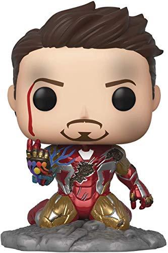 Los Vengadores Endgame de 10 cm de altura: FUNKO POP Iron Man Tony Stark Infinite Gloves Adornos de juguete hechos a mano