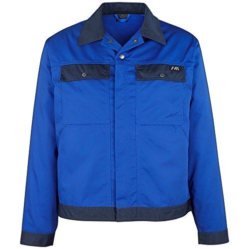 'macmi chael–Chaqueta de trabajo'Perú, 1pieza, 2x l, azul/azul marino azul, 04509–800–1101–2x l