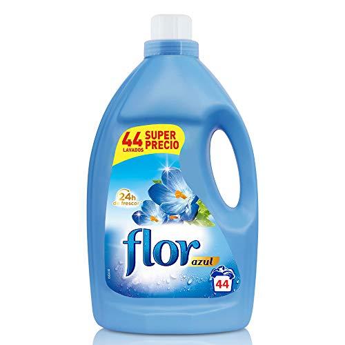 Flor - Suavizante para la ropa, aroma azul - 44 dosis