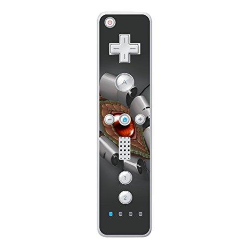 Disagu Design Skin für Nintendo Wii Controller Design Folie - Motiv Drachenauge